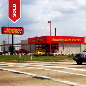 Just Closed Net Leased Advance Auto Parts Lockhart Tx