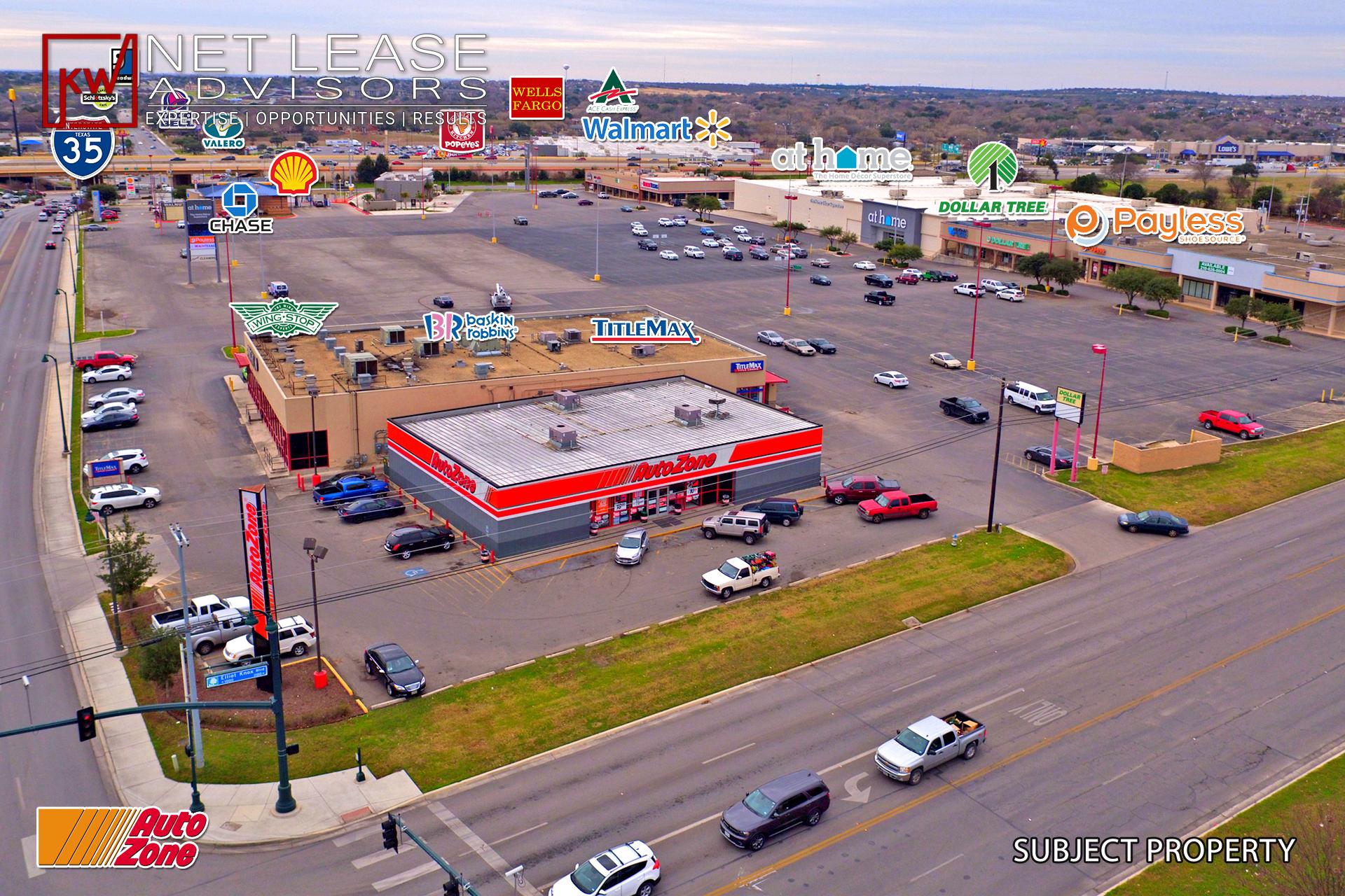 Just Listed Autozone 1368 New Braunfels Texas